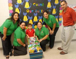 Joaquin and 4th Grade Teachers